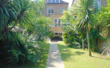 Basement flat and garden