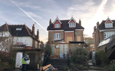 Current project: Grand transformation of period property